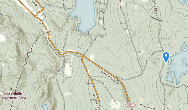 Enfield Wildlife Management Area Map
