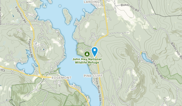 John Hay National Wildlife Refuge Map