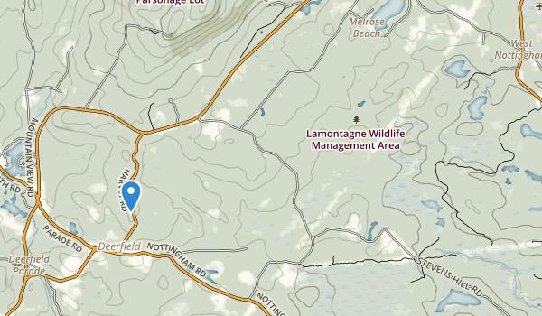 Lamontagne Wildlife Management Area Map