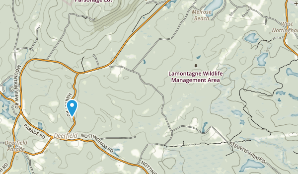 Lamontagne Wildlife Management Area Map