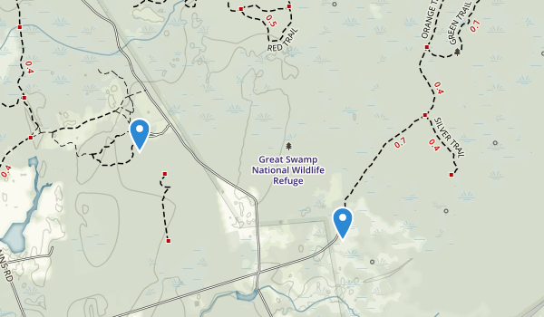 Great Swamp National Wildlife Refuge Map