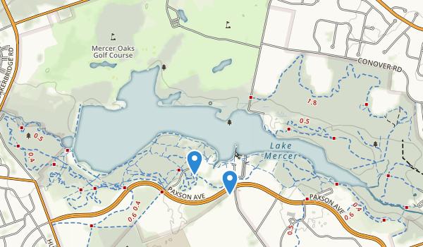 Mercer County Park Map