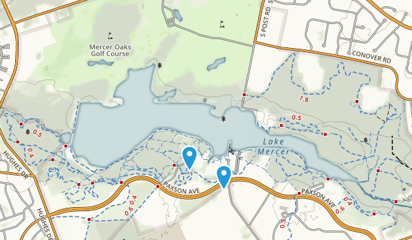 Mercer County Park Map
