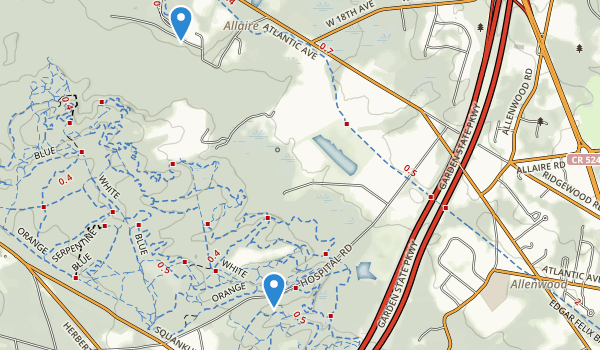 Robert L Brice Memorial Park Map