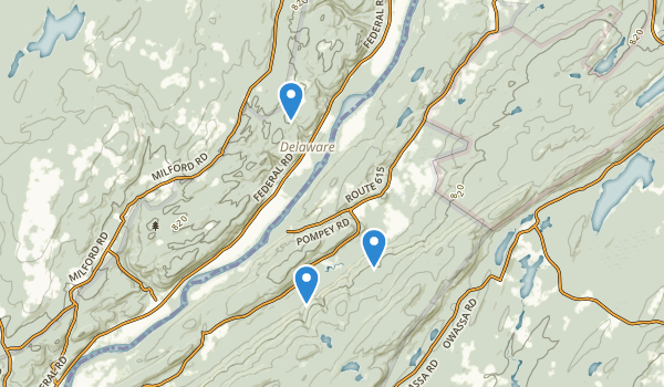 Walpack Fish and Wildlife Management Area Map