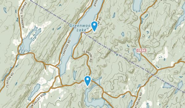 Wanaque Wildlife Management Area Map