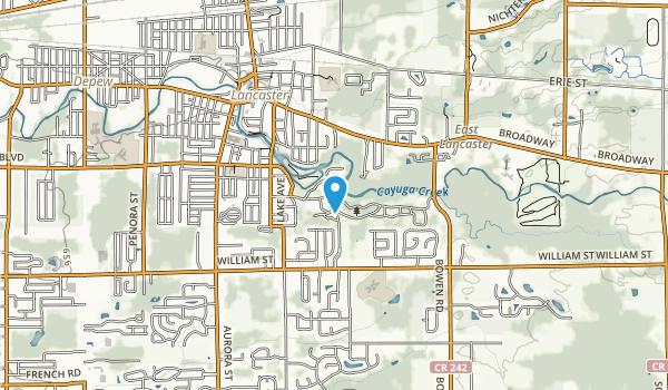 Como Lake Park Map