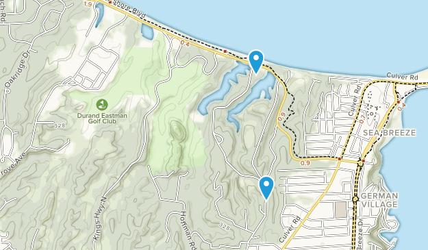 Durand Eastman Park Map
