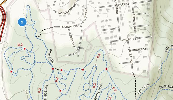 Graham Hills County Park Map