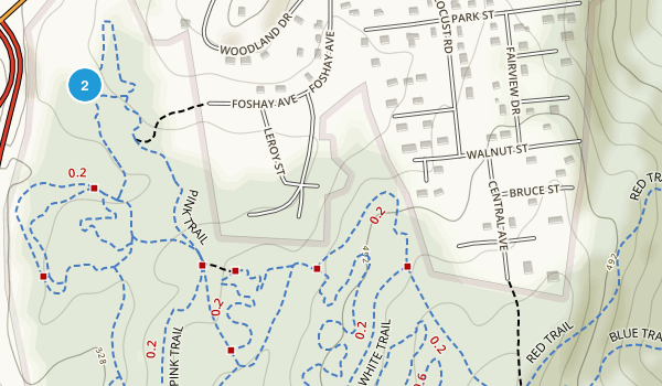 Graham Hills County Park Map