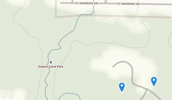 trail locations for Greece Park