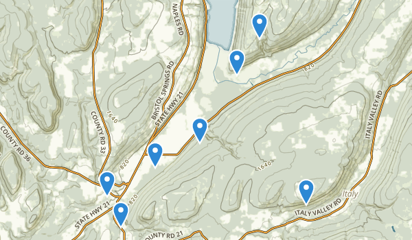 High Tor Wildlife Management Area Map