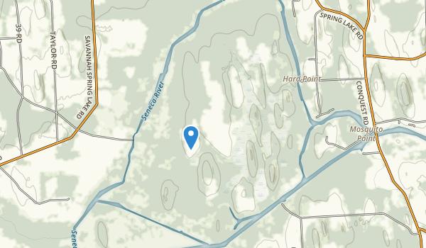 Howland Island State Wildlife Management Area Map