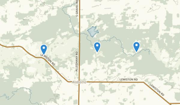 Iroquois National Wildlife Refuge Map