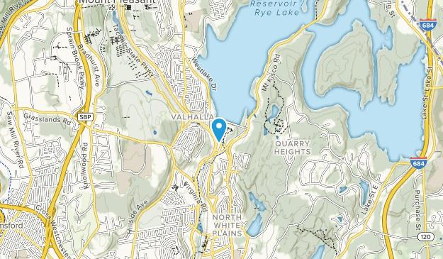 Kensico Dam Plaza Map