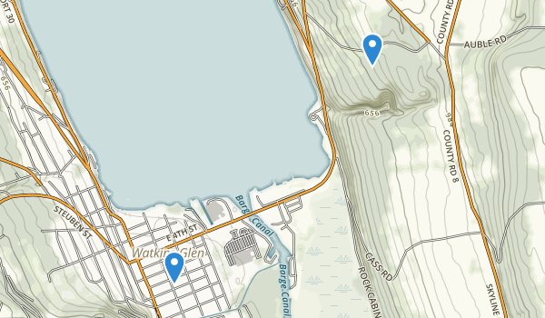 Lakeside Park Map