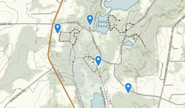 Mendon Ponds Park Map