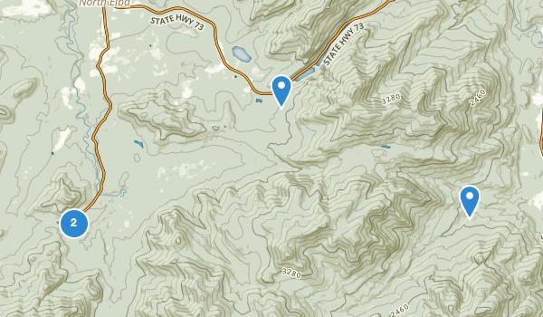 trail locations for Mount Van Hoevenburg Recreation Area