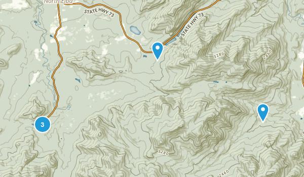 Mount Van Hoevenburg Recreation Area Map