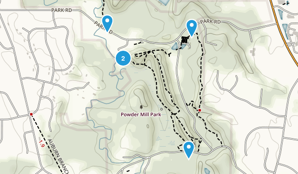 Powder Mill Park Map
