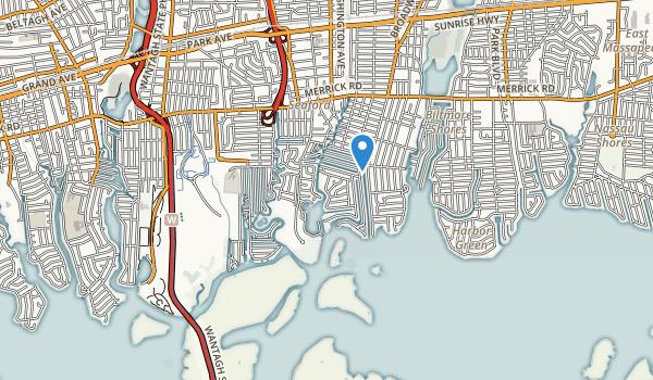 Seamans Neck Park Map