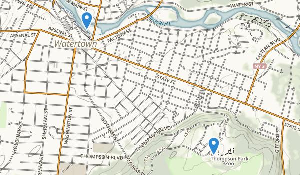 Thompson Park Map