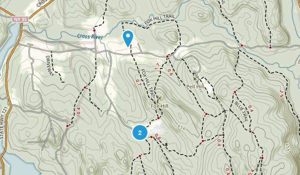 Ward Pound Ridge Reservation Map