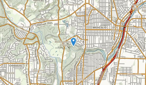 Babb Run Park Map