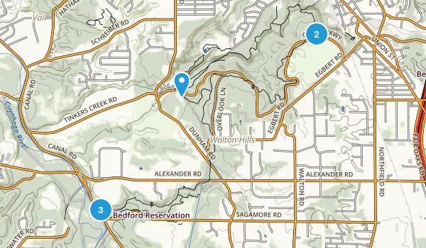 Bedford Reservation Map
