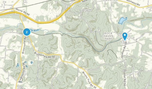 Black Hand State Nature Preserve Map