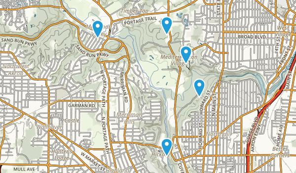 Cascade Valley Park Map