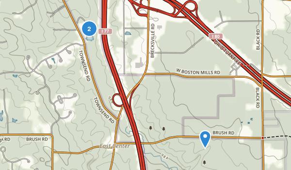 Furnace Run Metro Park Map