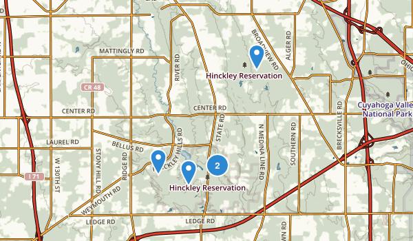 Hinckley Reservation Map