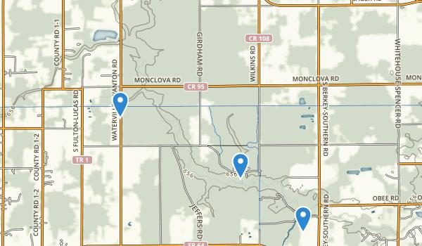 Oak Openings Preserve Metropark Map