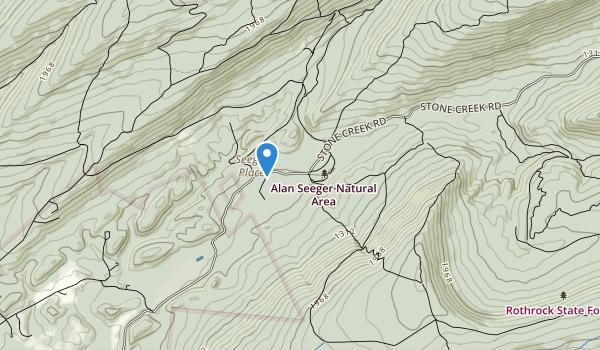 Alan Seeger Natural Area Map