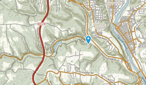 Brady Run Park Map