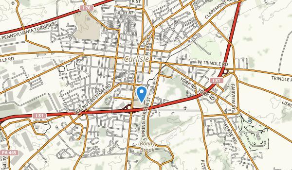 Letort Park Map