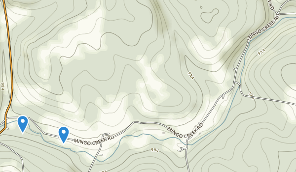 Mingo Creek County Park Map