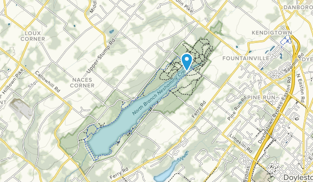 Peace Valley Park Map Best Trails in Peace Valley Park   Pennsylvania | AllTrails
