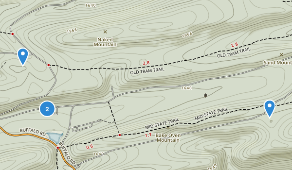 Raymond B Winter State Park Map