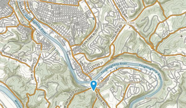 Renziehalusen Park Map