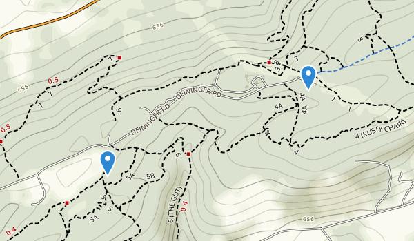 Rocky Ridge County Park Map
