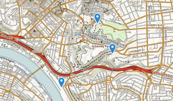 Schenley Park Map