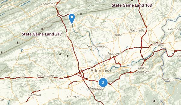 South Mountain Park Map