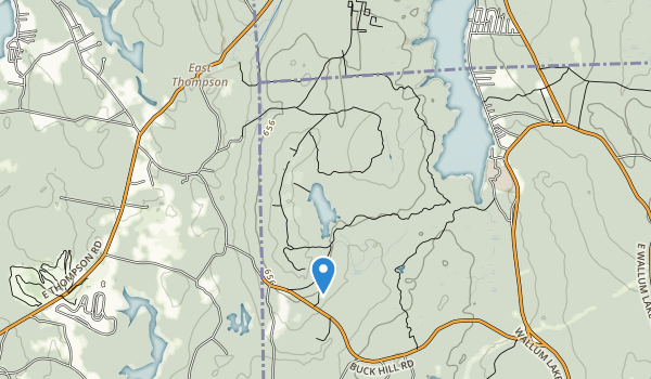 Buck Hill State Management Area Map