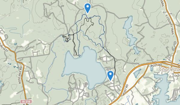 Burlingame Management Area Map