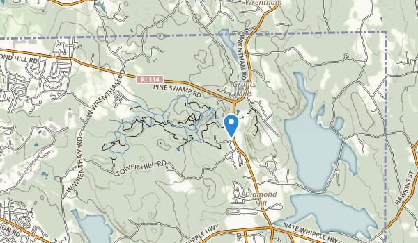 Diamond Hill State Park Map