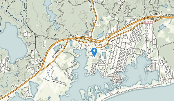 trail locations for Ninigret Park