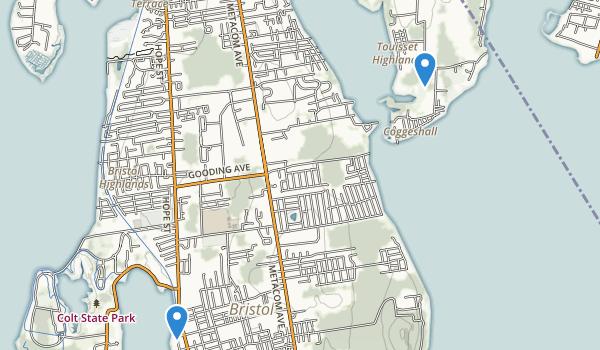 Touisset Wildlife Refuge Map