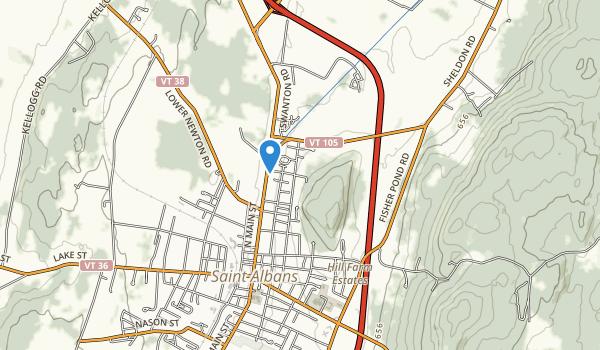 Aldis Hill Park Map